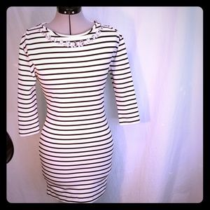Juicy couture xs stripped dress  sexy fit